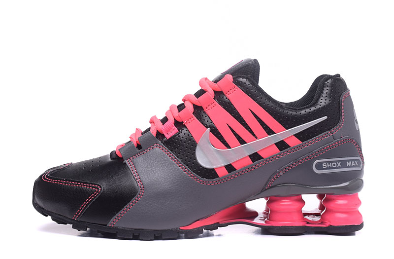 Nike Shox Avenue 803 Women Shoes Carbon Gray Pink
